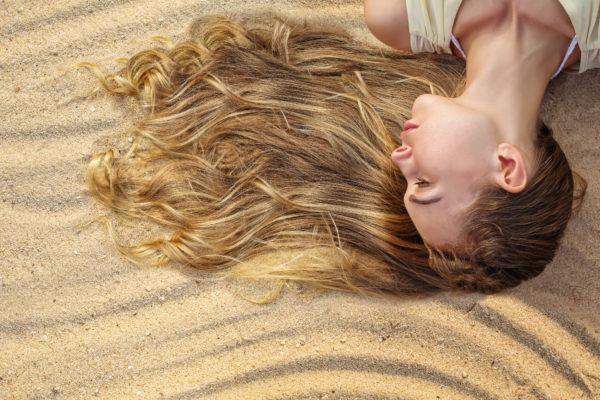 olio solare bio capelli